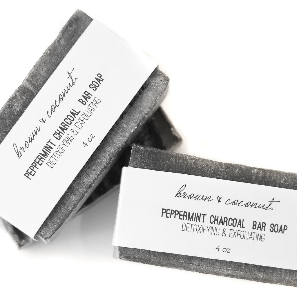 Peppermint Charcoal Soap