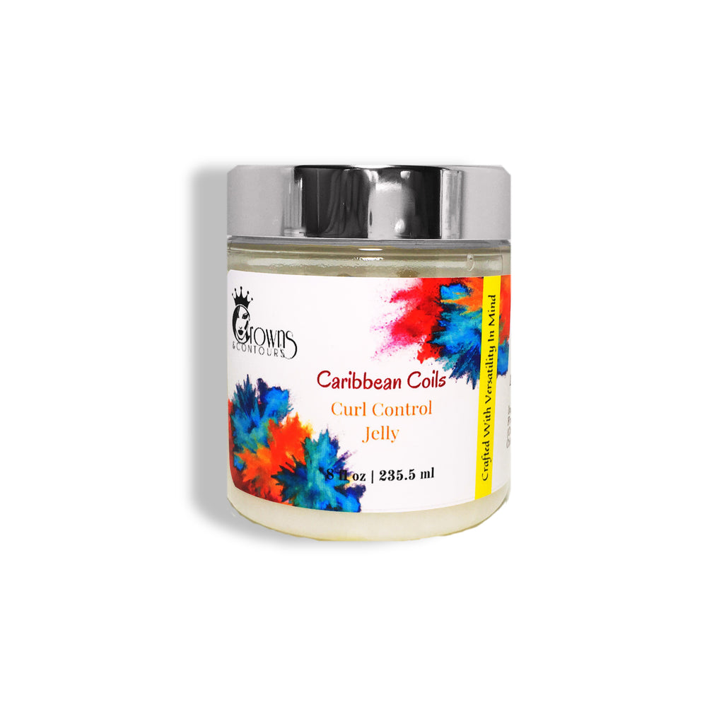 Carribean Coils - Curl Control Jelly - 8 fl oz