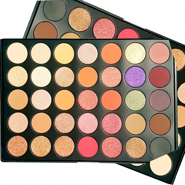 The Pro Maya Eyeshadow Palette (35-shades)