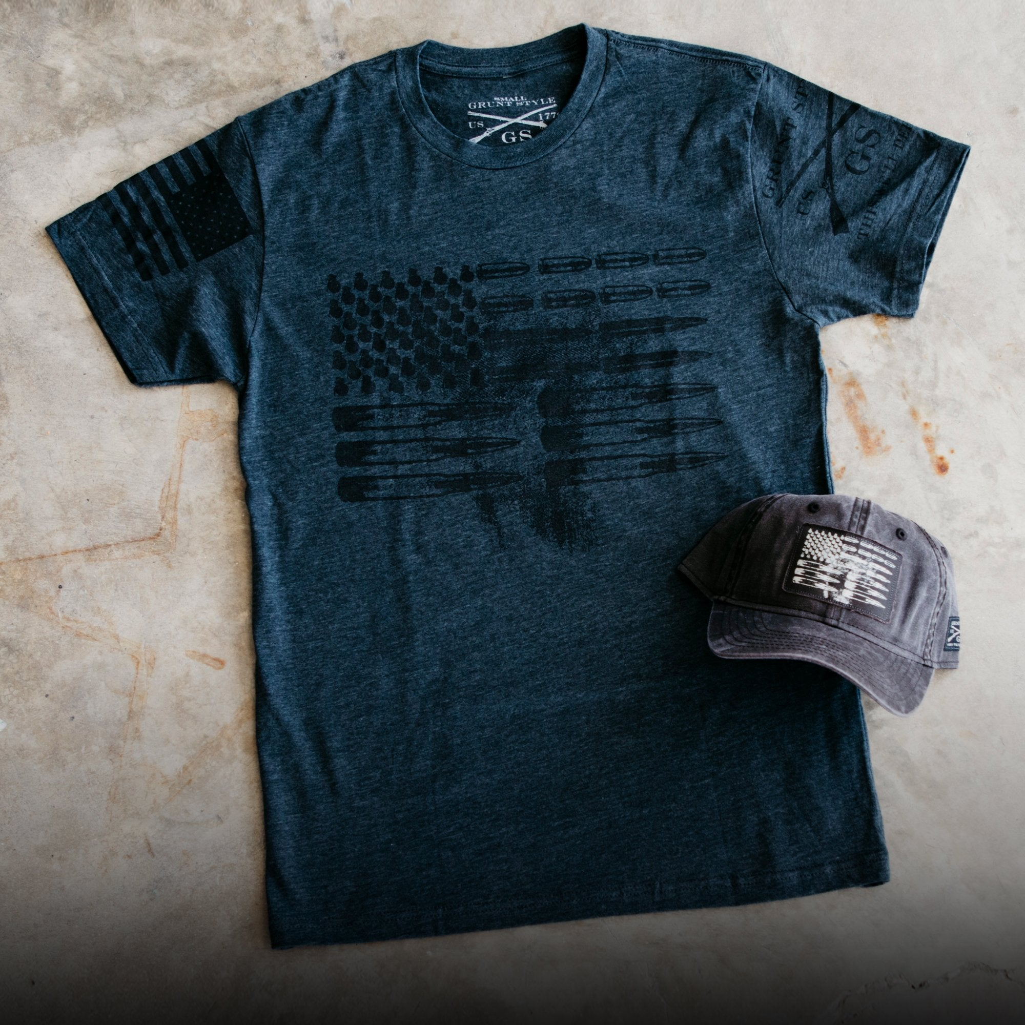 Ammo Flag Hat & Tee Bundle