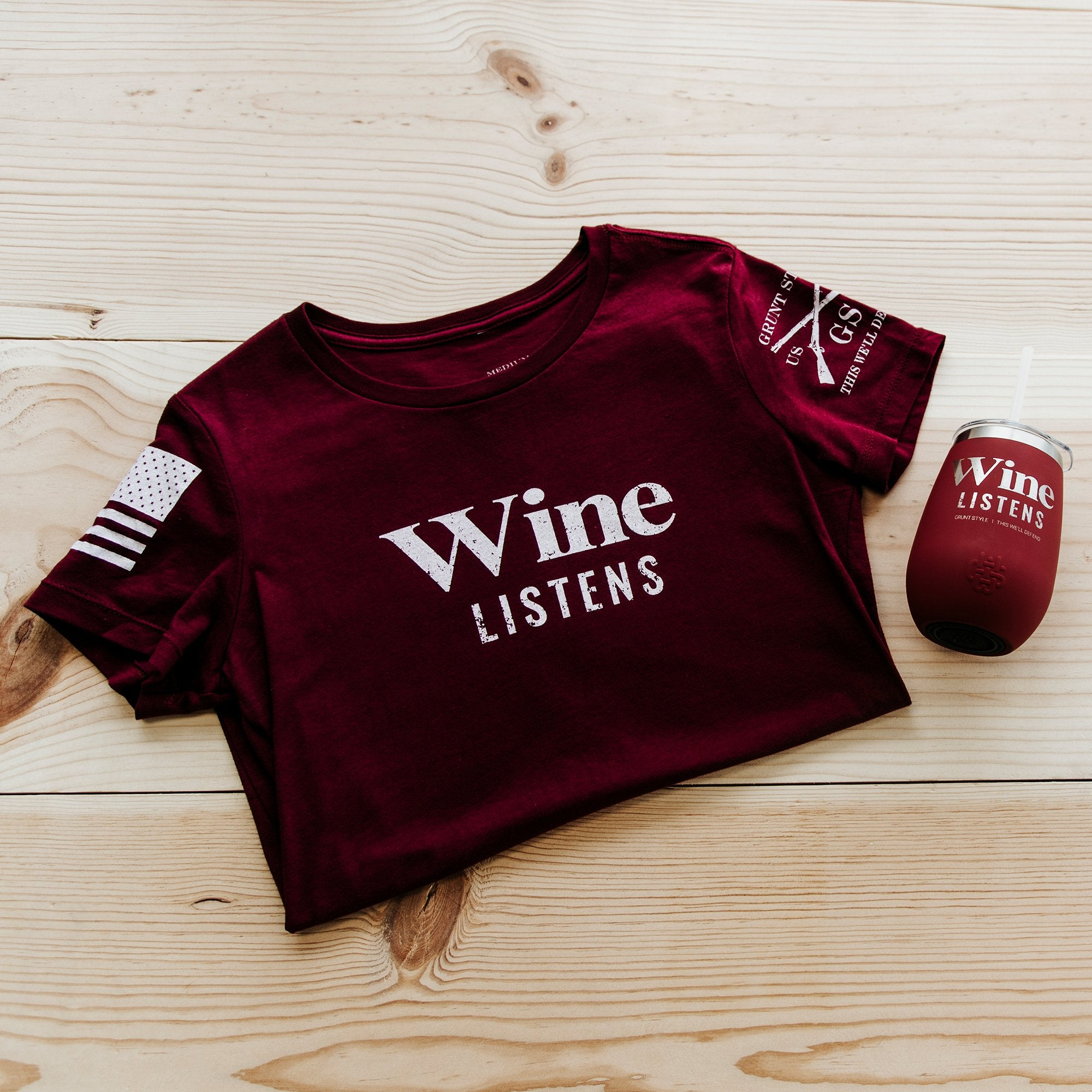 Wine Listens™ Shirt Bundle