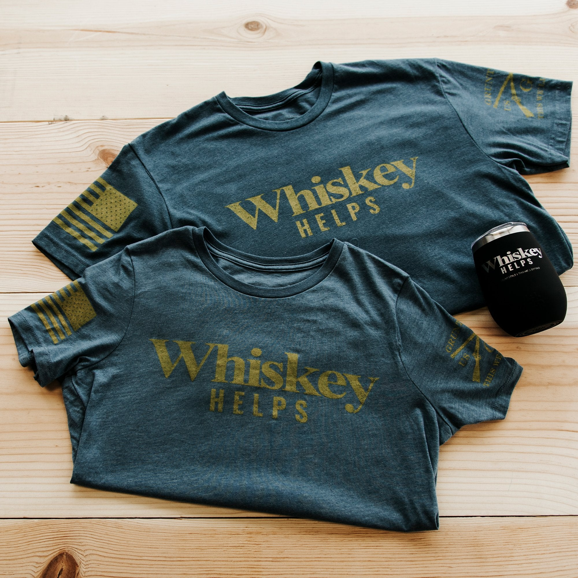 Whiskey Helps™ Shirt Bundle