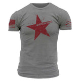Star Tee - Heather Charcoal