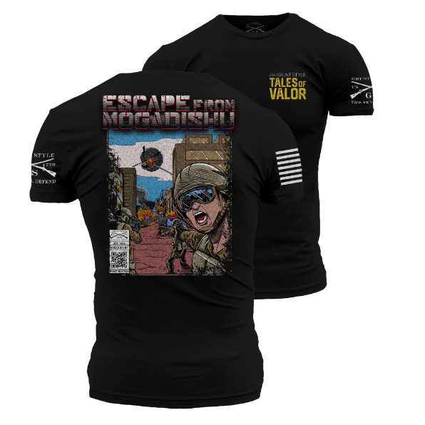 Escape From Mogadishu T-Shirt