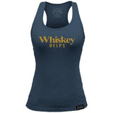 Whiskey Helps Ladies Tank