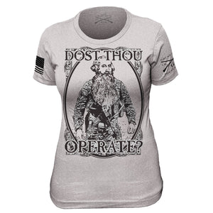 February Club Shirt - Dost Thou Operate? - Ladies