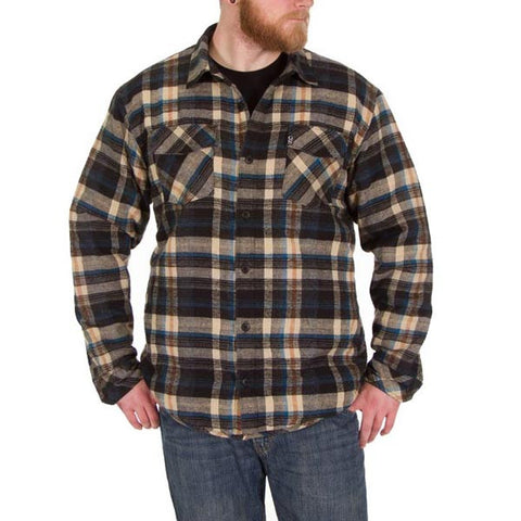 Lined Khaki Flannel