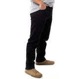 Straight Fit Denim - Black