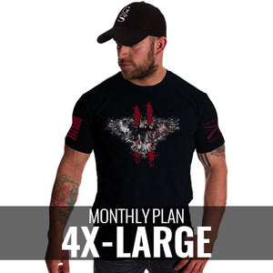 Male 4XLarge - $26/Monthly