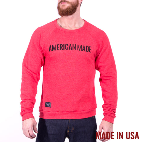 American Made Crew - Tri Red
