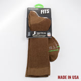 FIT Socks - Tactical Boot - Coyote Brown
