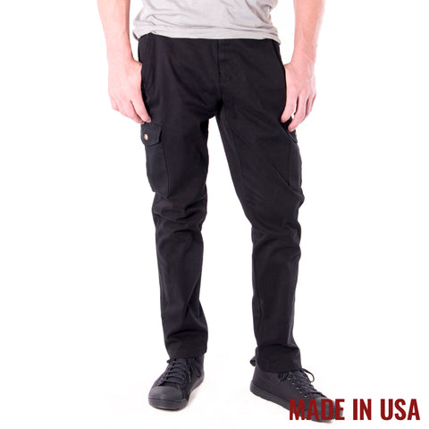 Action Cargo Pants - Black