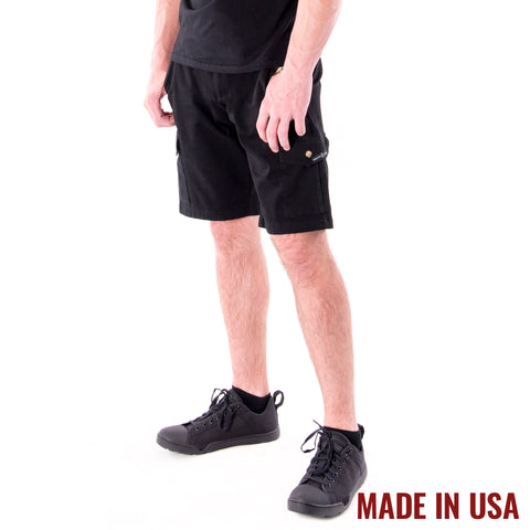 Action Cargo Shorts - Black