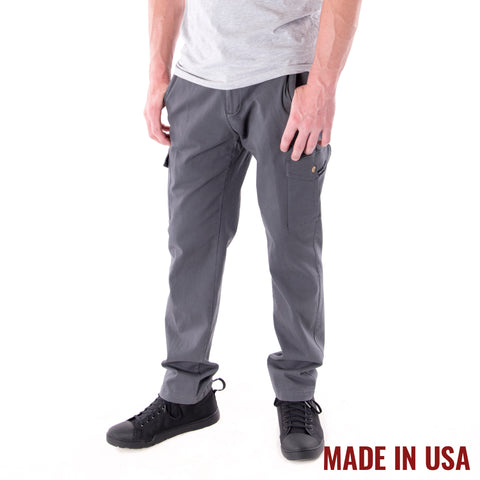 Action Cargo Pants - Grey