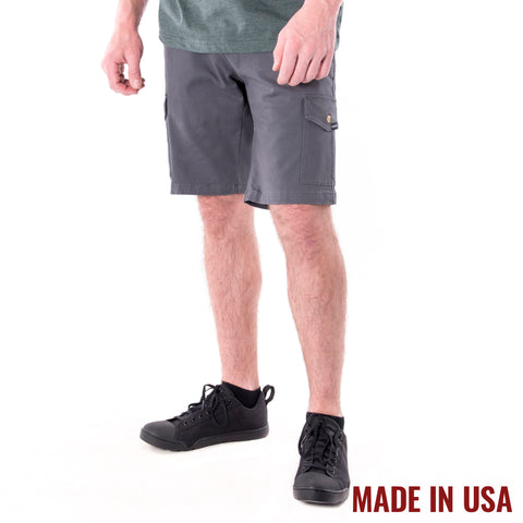 Action Cargo Shorts - Grey