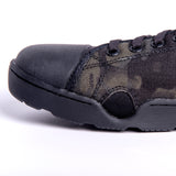 Low Tide Raid Shoes - Black & Grey Multicam