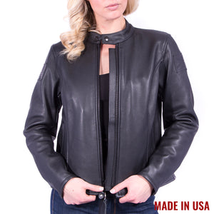 Women's Vanson Leather Biker Jacket