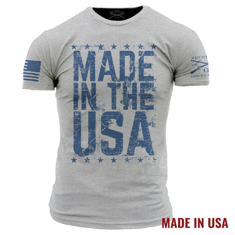 Made in the USA - Heather Grey