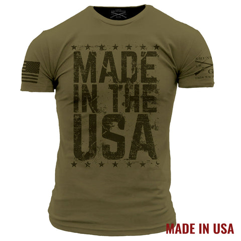 Made In The USA - Military Green