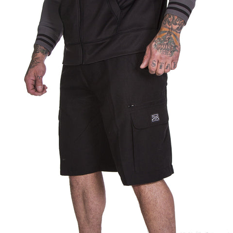 Men's Quick Dry Shorts - Black