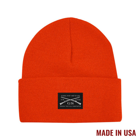 HUNTERS ORANGE BEANIE