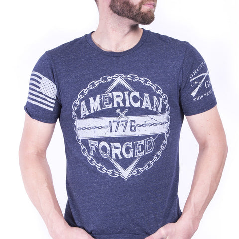 American Forged - Tri Navy Denim