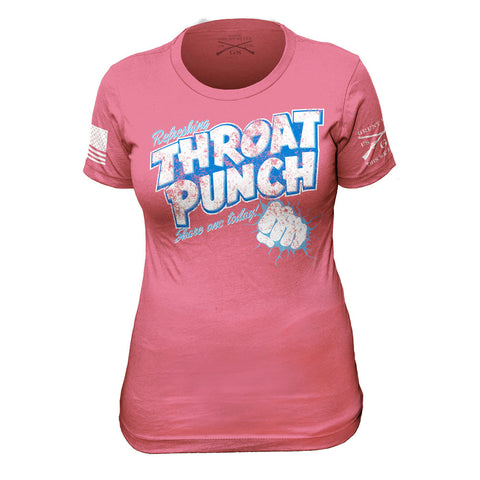 Refreshing Throat Punch Ladies - Front Phantom