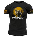 October Club Shirt - War Wolf Mens Front Phantom