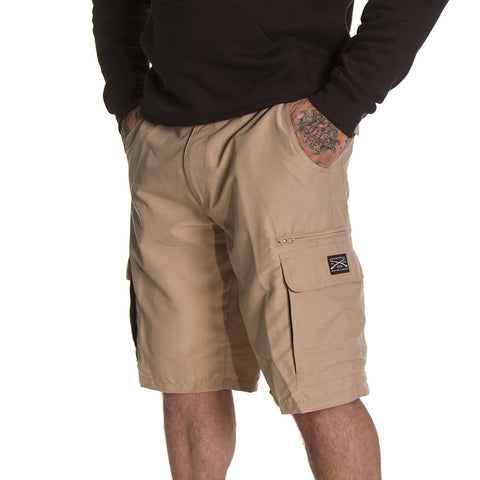 Men's Quick Dry Shorts - Khaki