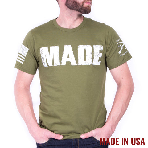 Made Tee - Olive
