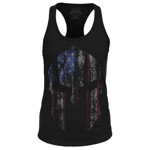 Ladies Spartan - Racerback - Front Phantom