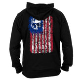 PAINTED FLAG ZIP-UP