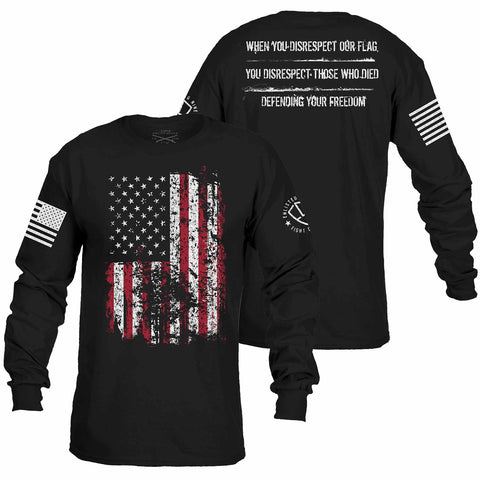 Enlisted Nine - Defending Your Freedom Long Sleeve