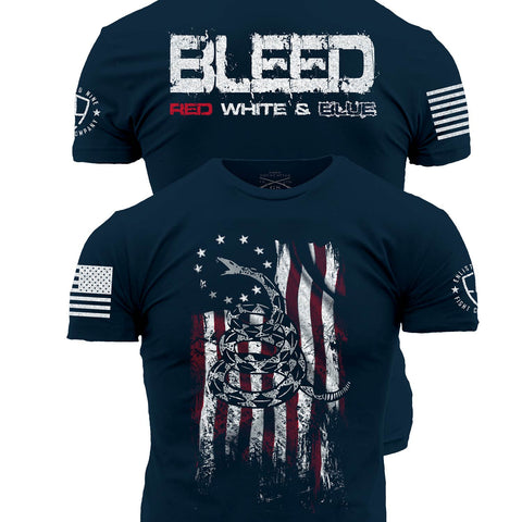 Enlisted Nine - Bleed Red, White, and Blue