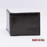 Grunt Style Black Leather Wallet