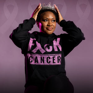 Power In Pink - F*ck Cancer Hoodie
