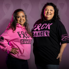 Load image into Gallery viewer, Power In Pink - F*ck Cancer Hoodie
