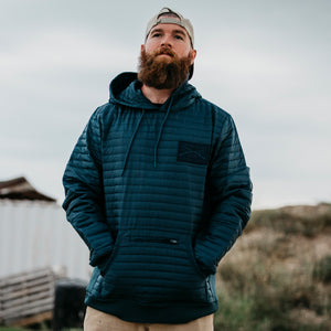 Insulated Hoodie - Navy
