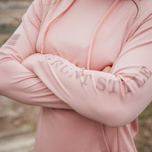 Load image into Gallery viewer, Women's GS Lightweight Performance Hoodie - Mauve