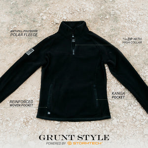 Grunt Style Tech 1/4 Zip Fleece