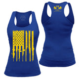 Club Colors Rifle Flag Tank