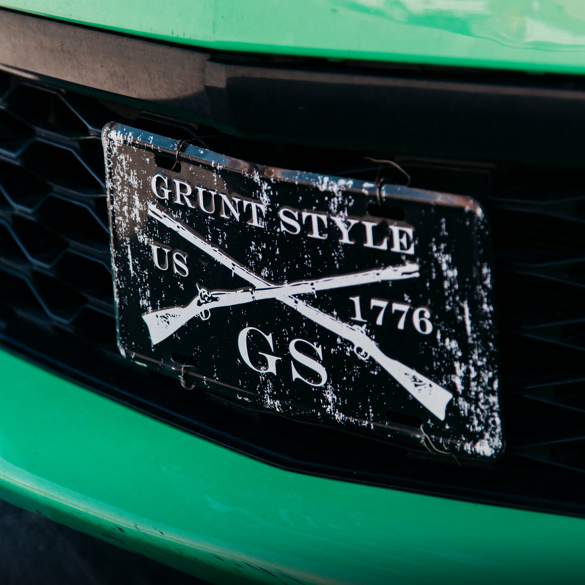 Club Grunt Style - Grunt Style License Plate
