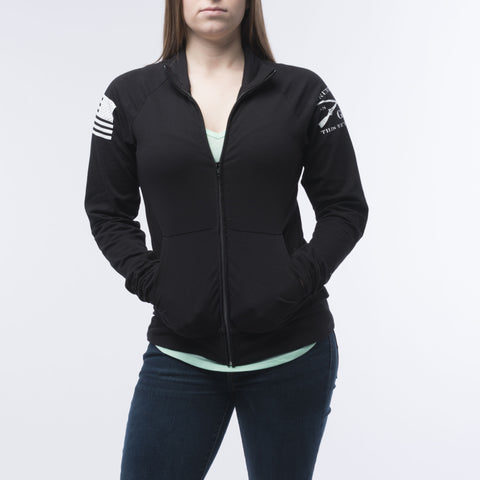 Ladies Casual Zip-Up