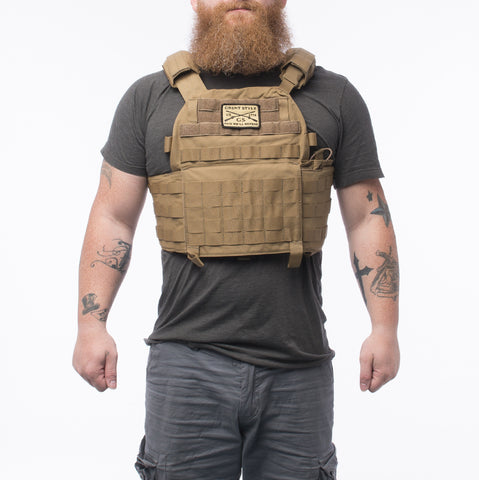 GS Coyote Plate Carrier w/Plates