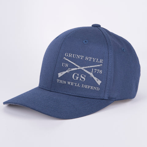 Navy Outdoors Flexfit Hat