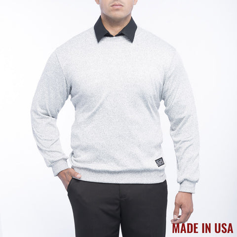 Men's Heather Grey Light Sweater
