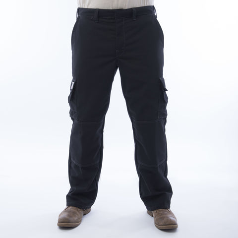 BIG BILL Ripstop Cargo Pants - Black