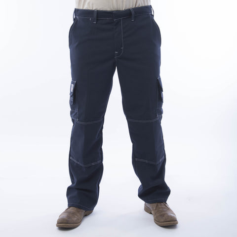 BIG BILL Ripstop Cargo Pants - Navy