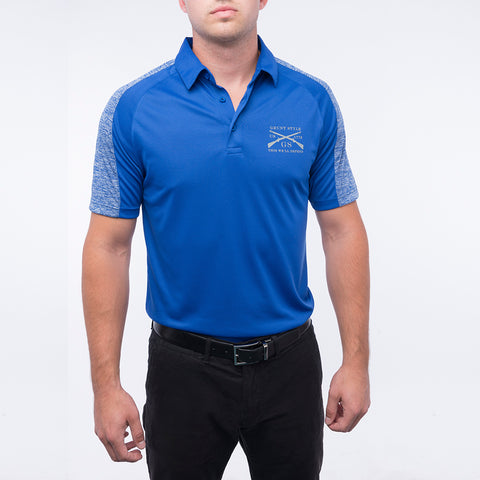 Men's UV Polo - Royal
