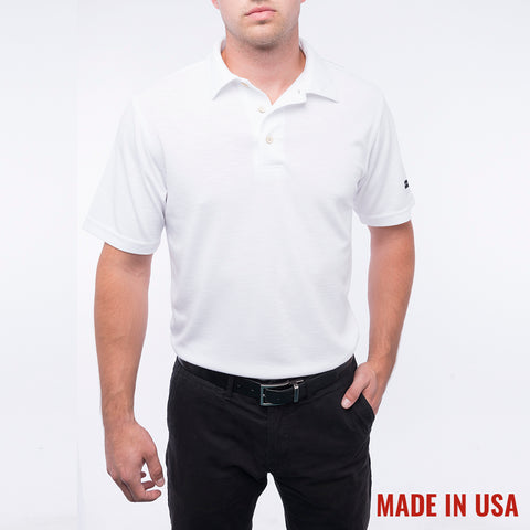 Men's Pro Polo - White